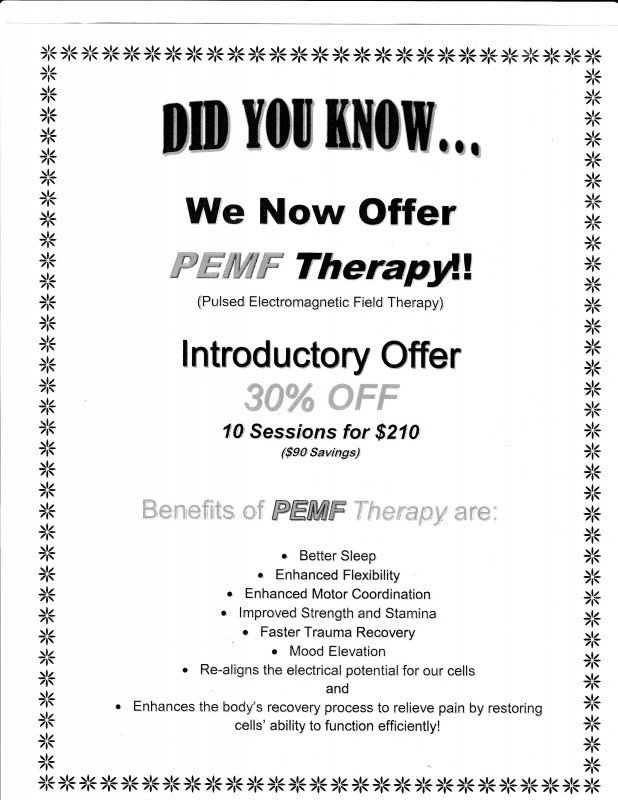 PEMF Therapy